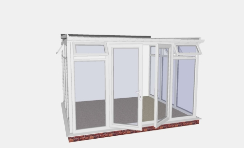 UK DIY Lean To Conservatory | Leanto DIY Conservatories UK